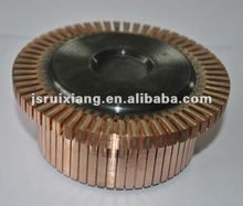 commutator for electrical auto alternator collector