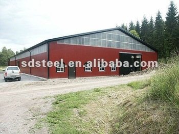 ISO9001 steel warehouse