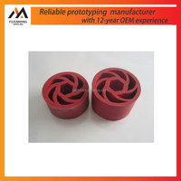 China manufacture colorful rubber components for industry NBR silicone rubber