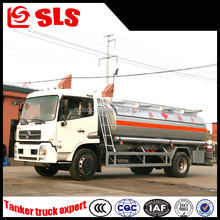 Small Dongfeng truck heavy fuel oil tanker for tansporter