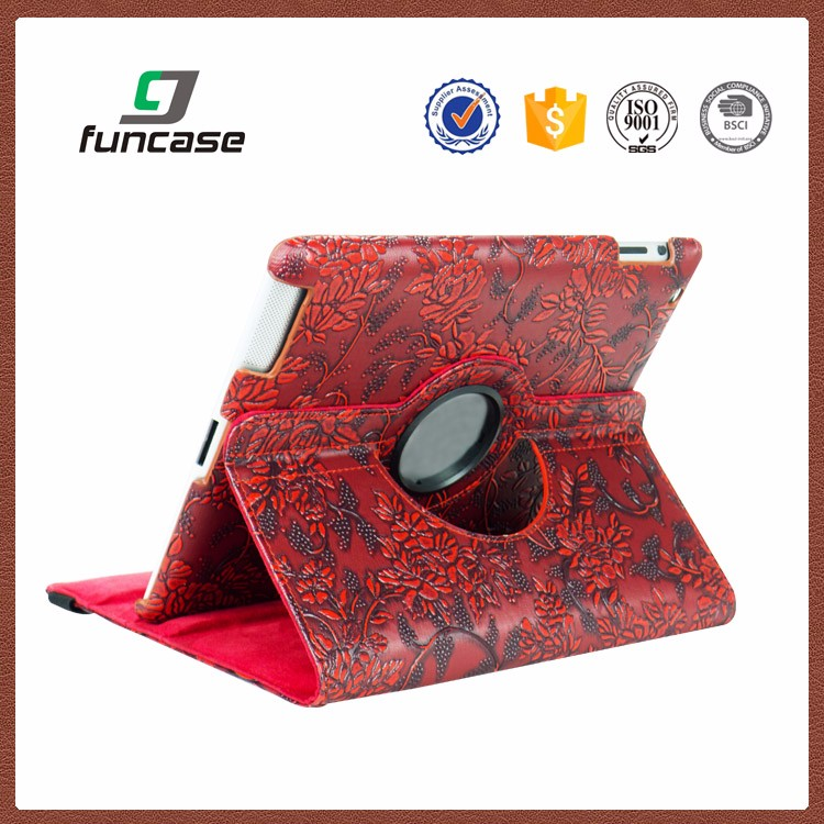 2016 custom 360 rotating bluetooth keyboard case for ipad