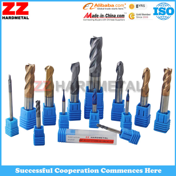 Supply Best Quality tungsten carbide end mill cutting tools