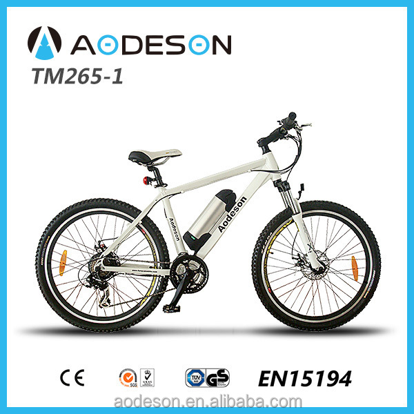 250W Motor drived mountain electric bike with 21speed derailleur(TM265-1)