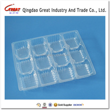Transparent Plastic Blister Chocolate Packing Tray