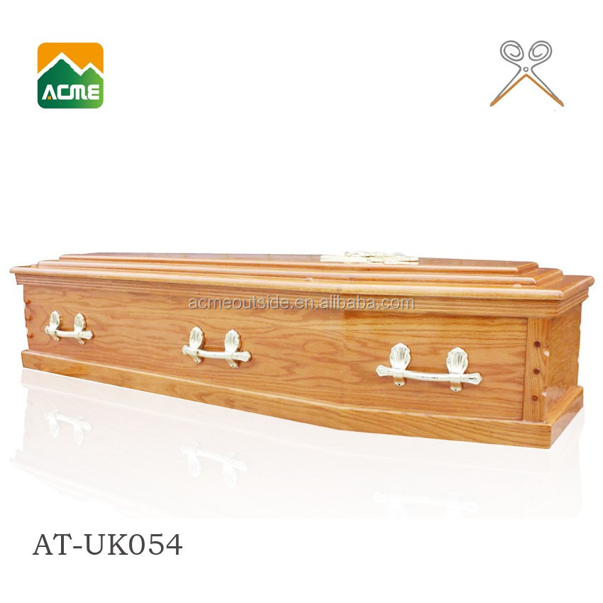 AT-UK054 cheap hot sale cardboard coffin