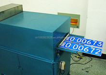 Car number Embossing Numbers Plate Press Machine