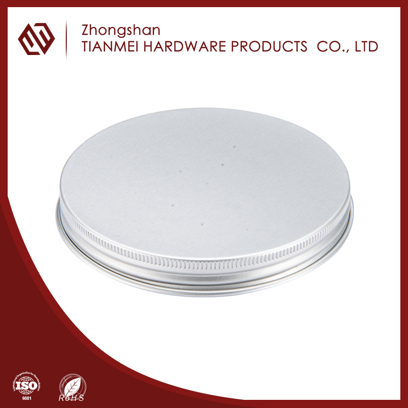 SGS factory price different types of caps aluminum foil screw cap for bottle