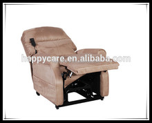Riser and recliner Leather recliner massage chair