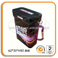 Custom Protable Packaging card Can with Carabiner