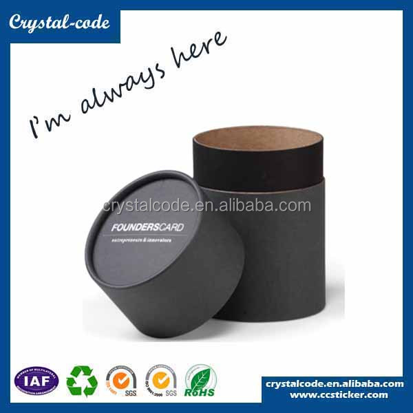 Hot selling cylinder paper storage gift box cigarette cylinder paper gift box