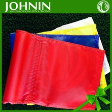 OEM Service Free design logo 420D nylon golf tube flags