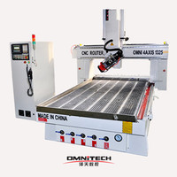 4 axis multi-use woodworking machine with Taiwan Syntec controller