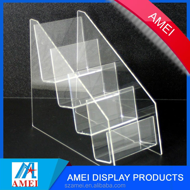 2017 countertop acrylic brochure holder & booklet holder for ad