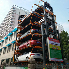 circulating car parking system Parking guidance system