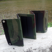 PowerGreen 7W Wholesale Solar Cell Power Bank Sun Battery Solar Charger