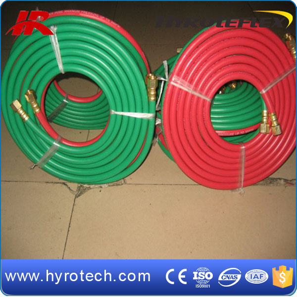 Braided Rubber Twin Welding Hose