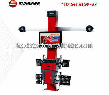 "manufacture ""Sunshine"" wheel aligment SP-G7 with CE&ISO"