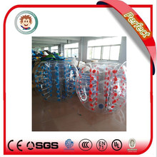 Perfect factory direct sale football inflatable body zorb ball