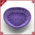 Widely Use High quality creative plastic washing rattan color basket