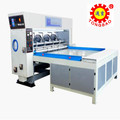semi-auto carton box slotting making machine