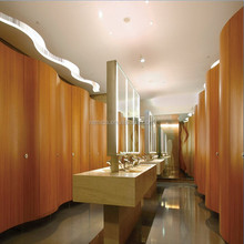 hpl laminated wood thickness toilet partitions/colorful HPL Sheet/hpl panel toilet partition