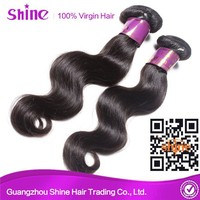factory supply directly Shine Hair Tangle free 7A Grade Indian Hair Company In Guangzhou