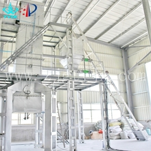 Rice husk wood fluidized bed biomass gasifier for sale