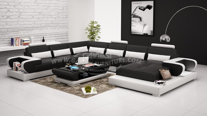 2015 Corner Sofa American Leather Sofa Design European