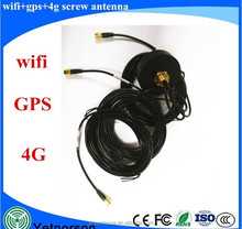 external wireless GPS wifi 4G active combo antenna for car