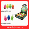 Cheap Sundry Shape Flower Finger Ring Toy