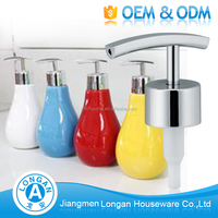 China supplier OEM 1cc/2cc kitchen bottles spray manual soap pump dispenser for plastic bottles