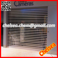 Automatic pc transparent security shutter