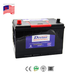 90amps 12V 115D31R auto battery 90 ah