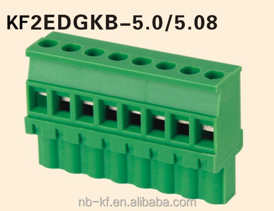 pluggable terminal block 5.08mm pitch 24pin good quality connector