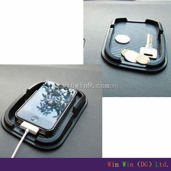 car anti slip pad,silicone rubber pad ,holder mobile phone