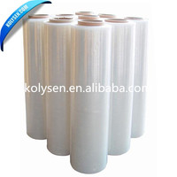 Transparent PVC Shrink Tube Wrap Film for Plastic Drinking Bottle Package