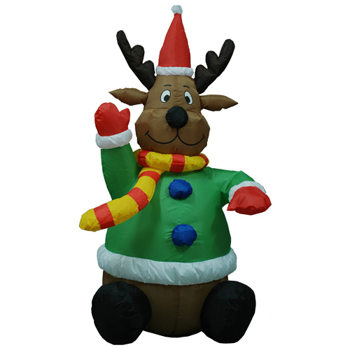 Inflatable Deer Garden ornaments For Christmas Party