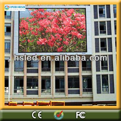 wholesale led video display unit 16mm pitch 1R1G1B or 2R1G1B