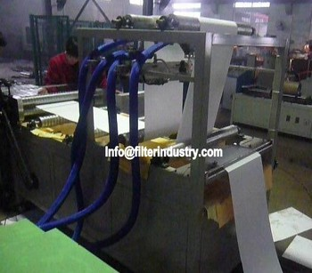 HEPA Air Filer pleating Production Line