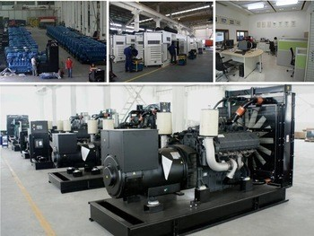 1400KVA Open/silent type brand diesel generator with power plant project