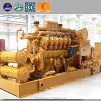 CE approved 10kw to 5MW cogenerator methane gas power generator natural gas generator price