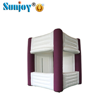 Customized designed wholesale inflatable new products good quality cheap trade show cube display booth tent for sale