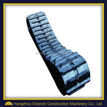 PC40 excavator undercarriage parts mini rubber track pad assy in stock