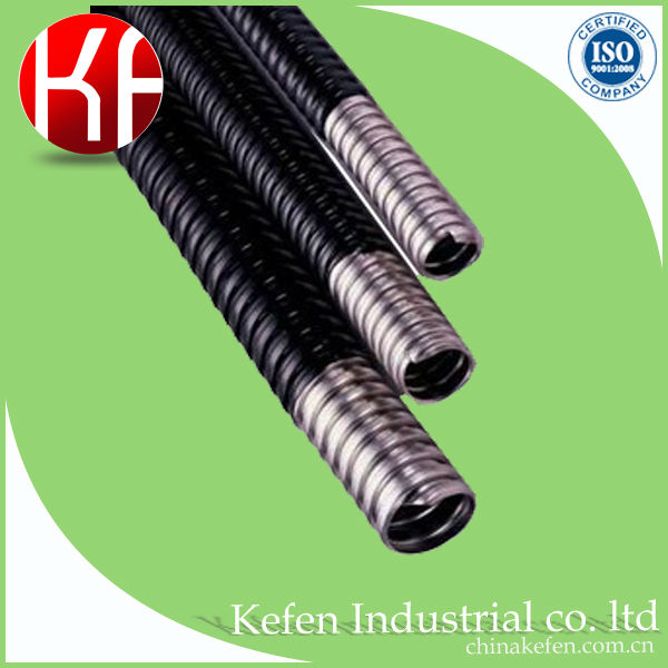 "3/4"" steel flexible corrugated electrical conduit pipes"