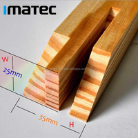 Nanjing Factory Wholesale Pine Wood Fame Photo Assembled Stretcher Bar for Painting