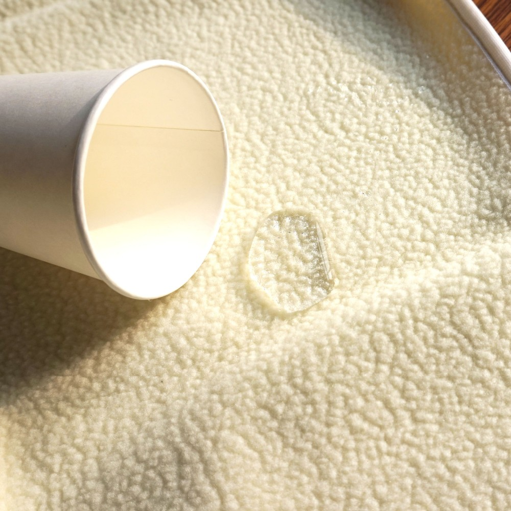 Polyurethane laminated imitate berber fleece fabric with tpu backing for blankets