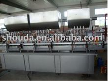 Automatic luncheon meat filling machine