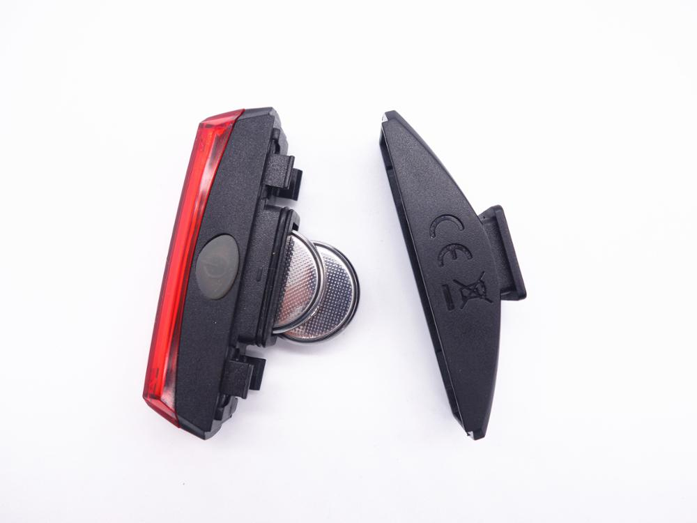 Red COB LED Bicycle Tail Light for Night Riding Cycling