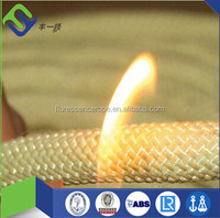 Braided Aramid Flame Resistant Rope for Military Tent with factory price
