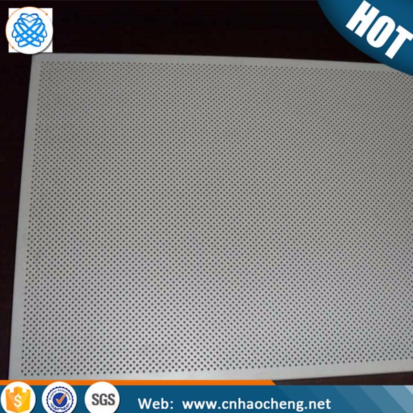 Custom stainless steel aluminum zirconium perforated metal sheet plate